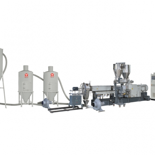 Repet Wood WPC Granule Pelletizer Plant