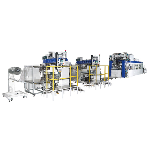 Thermoforming Production Line-SL-1220 + SL-520