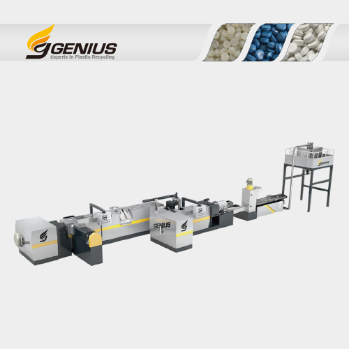 Two Stage Force Side Feeding Plastic Recycling Machine (RECOi Series)