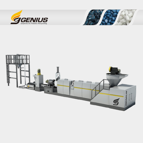 Hopper Feeding Recycling Machine
