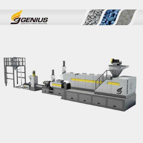 Two Stage Hopper Feeding Plastic Recycling Machine (Hi Series)