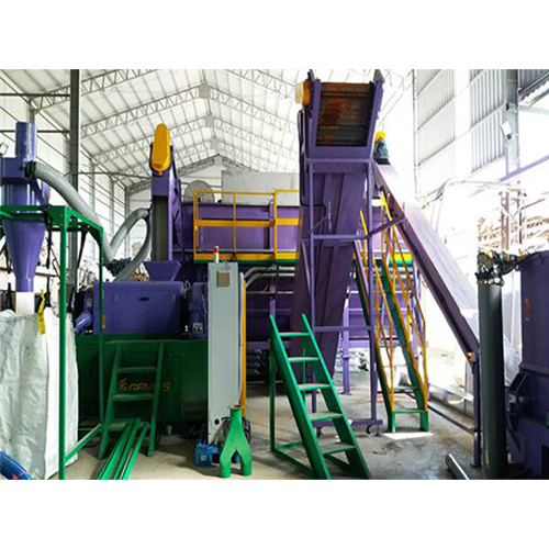 Success Story - Waste Plastic Wash Plant