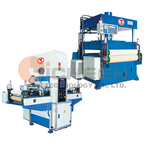 Hydraulic Type Die Cutting Machine With Sliding Table Feeding