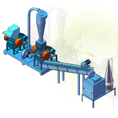CABLE WIRES RECYCLING MACHINE