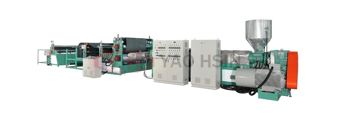 PVC TPR Adhering Machine Of Car Mat