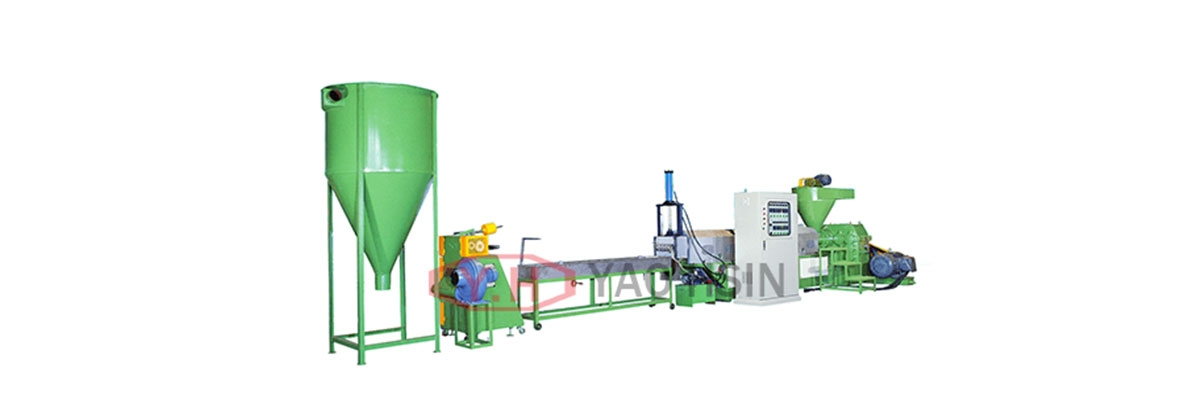 Plastic recycling pelletize extrusion equipment