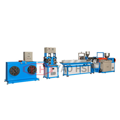 Braided Rope Coating And Profile Extrusion Dual-purpose Machine