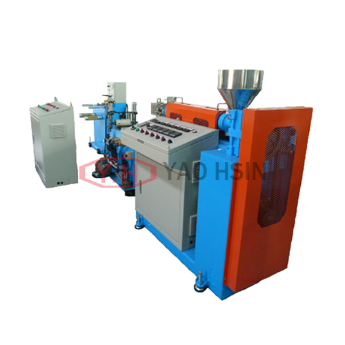 Experimental thin film extrusion line