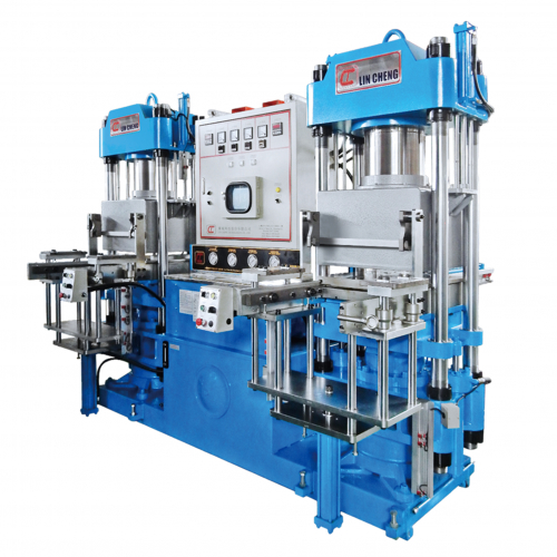 2RT Mold-Open Rubber/Silicon Vacuum Compression Molding Machine -VCC-D2