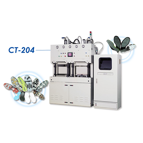 Auto Outsole and Midsole Uni-Molding Press - CT-204