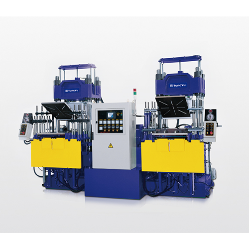 Rubber  Vacuum Compression Molding Machine TYC-V-3RT