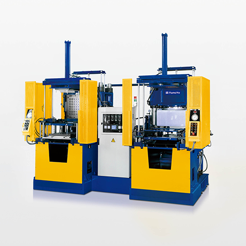 3-Layer Mold Vacuum Compression Molding Machine