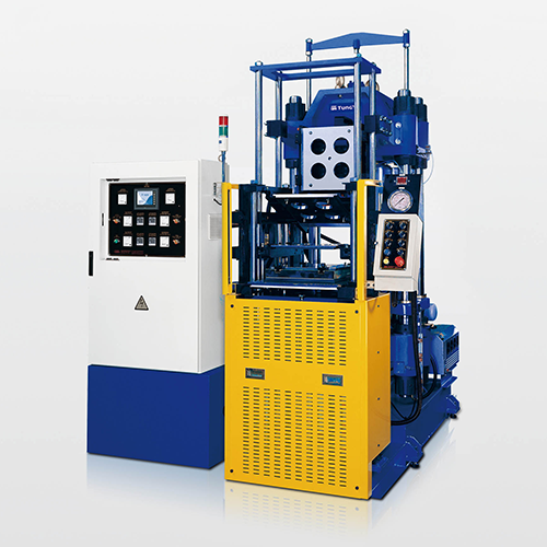 4-Layer Mold Vacuum Compression Molding Machine-Single Station