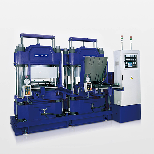 Rail Type Vacuum Compression Molding Machine