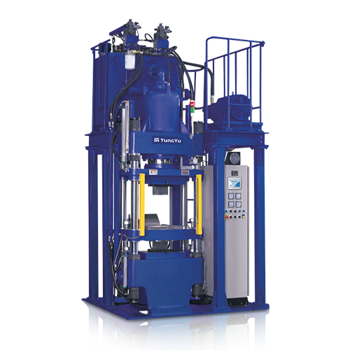 Double Decker Compression Forming Machine (Down Stroke)