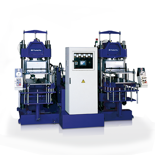 2-Layer Mold Vacuum Compression Molding Machine