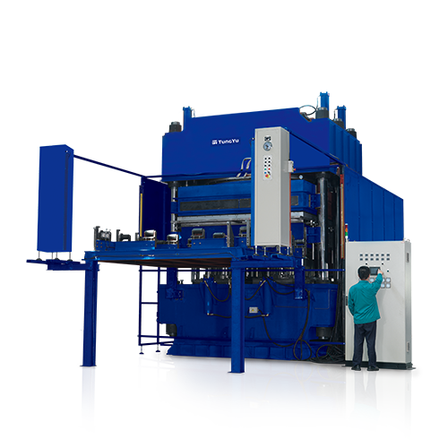 Heavy Duty with Multi-ram Design Compression Molding Machine