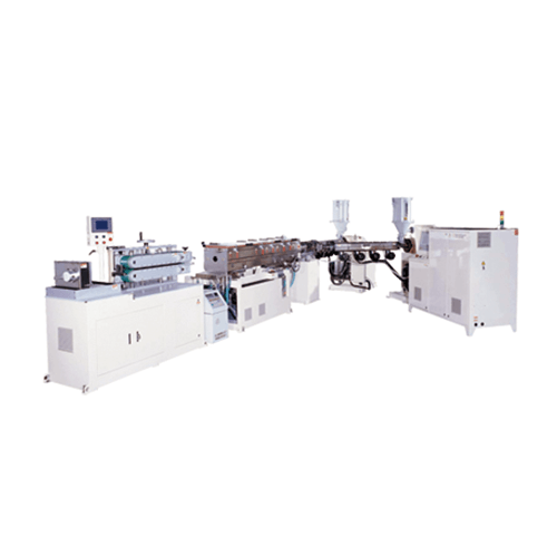 Two-Layer extruder & cutting machine