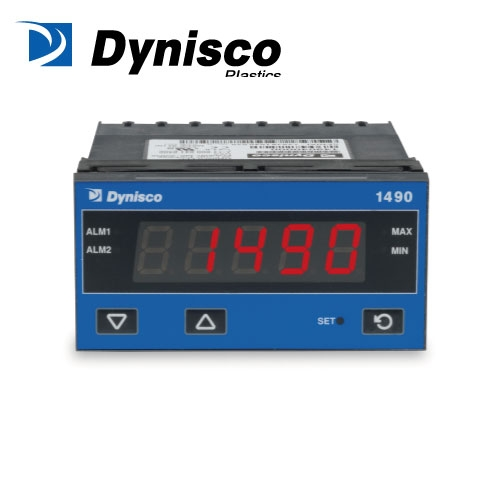 Dynisco 1490 – 5 Digit 1/8 DIN Panel Indicator