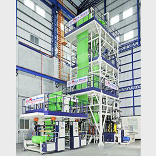 LDPE Five-Layer Co-Extrusion High Speed Blown Film Line KS-ML-5-50