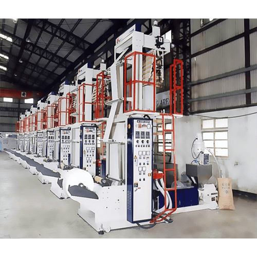 Economical E-Type HDPE/LDPE SINGLE HEAD HIGH SPEED BLOWN FILM LINE
