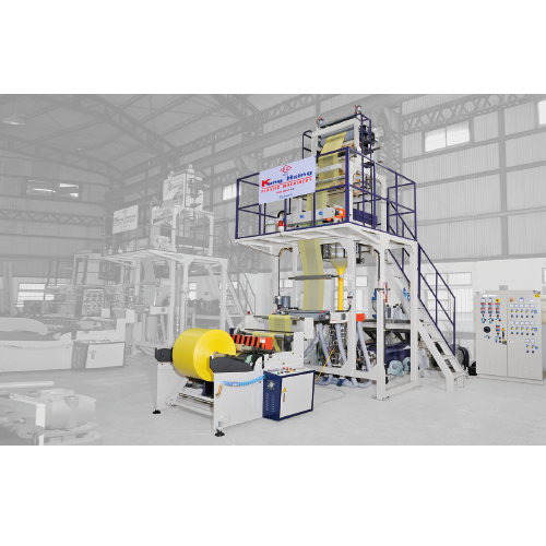 KS MH5 055 aba hdpe 3 layer high speed blown film line
