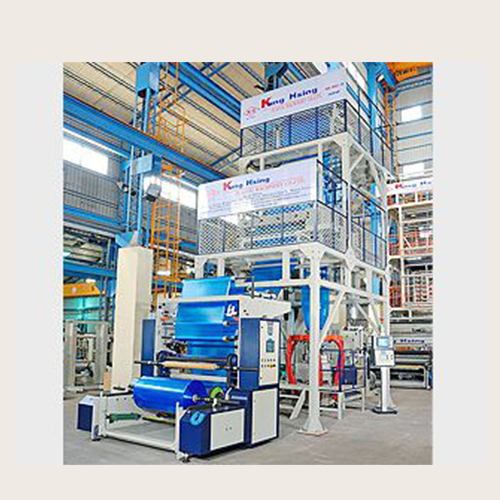 LD/LLDPE Super High Speed Blown Film Line Single Head Type
