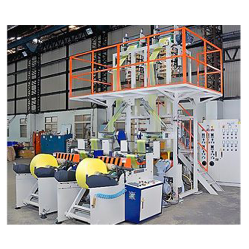 Economical E-Type HDPE/LDPE Twin Head High Speed Blown Film Line