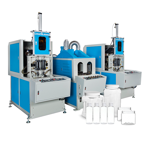 PET Semi-Auto Stretch Blow Molding Machine – CMH Series