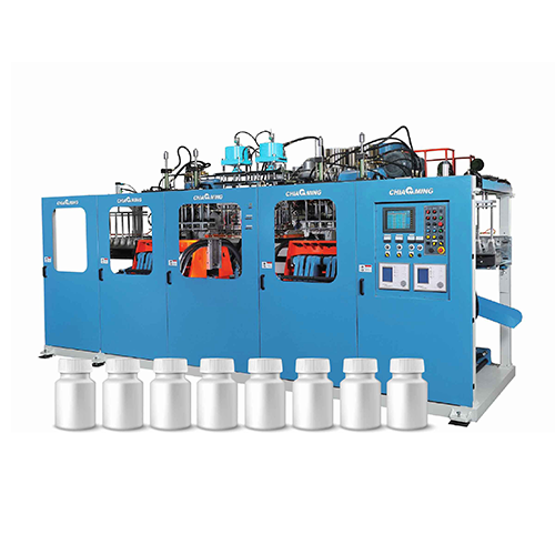 Continuous Extrusion Blow Molding Machine for Small Bottles