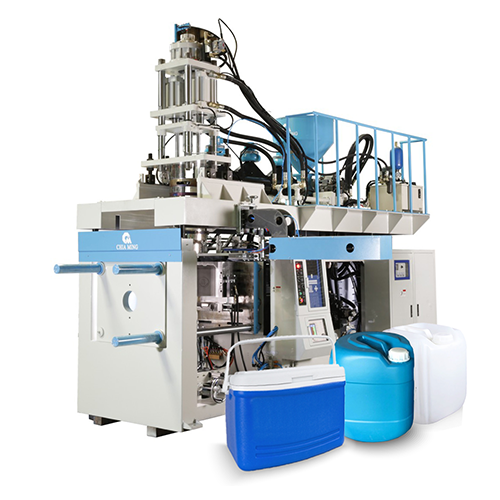 Accumulative Extrusion Blow Molding Machine for Medium to Large Containers