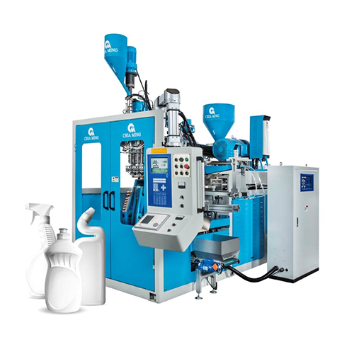 Triple-head with Visi Strip Blow Molding Machine  CM-L Series (Continuous type)
