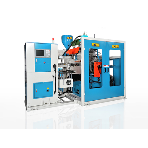 Continuous Extrusion Blow Molding Machine with In Mold Labeling