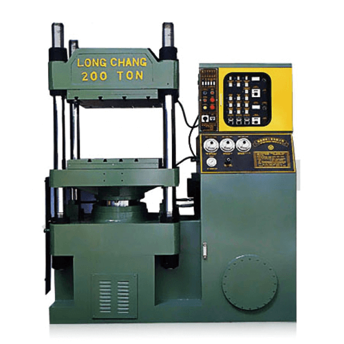 SINGLE BODY OIL HYDRAULIC COMPRESSION MOLDING MACHINE - FC SERIES