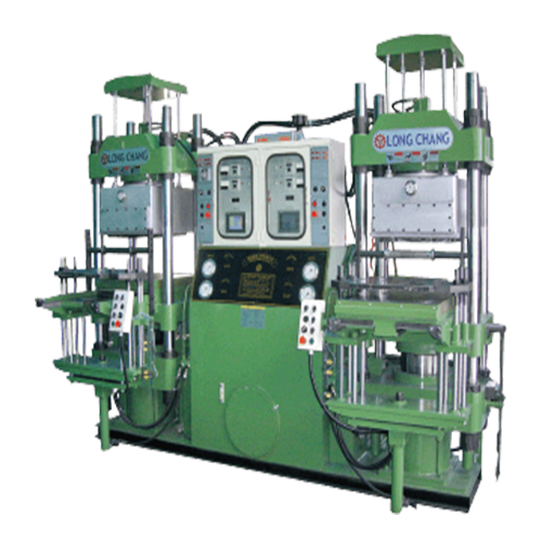 Twin Body Vacuum Oil Hydraulic Compression Molding Machine - FBV Series