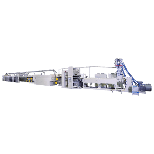 PP/HDPE Flat Yarn Extrusion Line Series (For PP/HDPE Woven Fabrics)