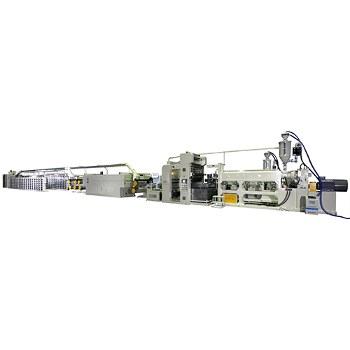 Extrusion tape lines for woven fabrics