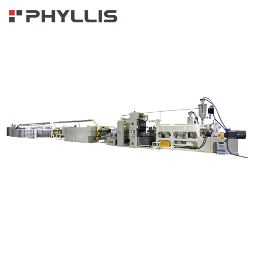 PP/HDPE Flat Yarn Extrusion Line (For PP/HDPE Woven Fabrics)