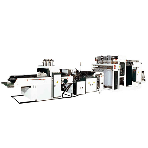 Heat-slitting high-speed T-shirt bag making machine  PFA-V+SLG