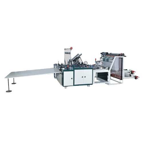 Irregular bottom seal bag making machine