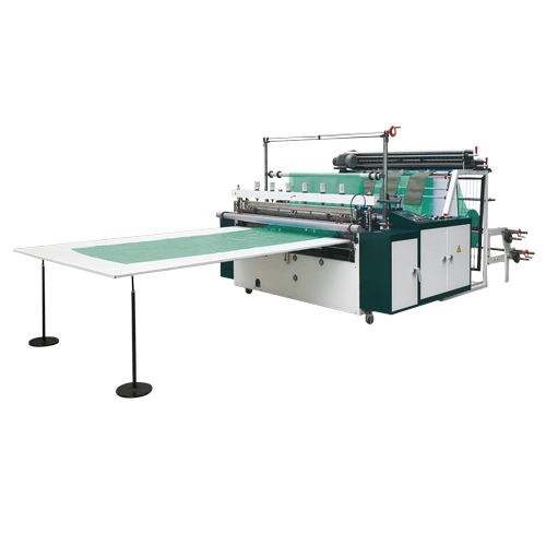 Tensionless thick gauge bottom seal bag making machine
