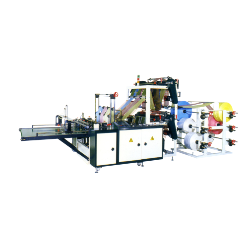 Double deck bottom seal bag making machine (4/6/8 lines) DL-V-(4/6/8)