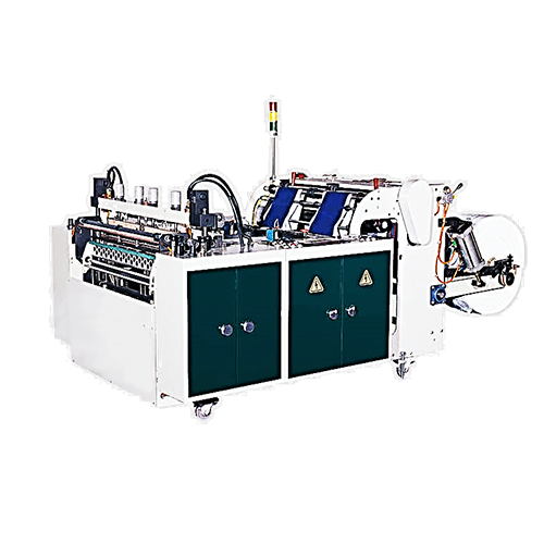 Economic High-speed T-shirt bag making machine (Hot-cut system) P-V