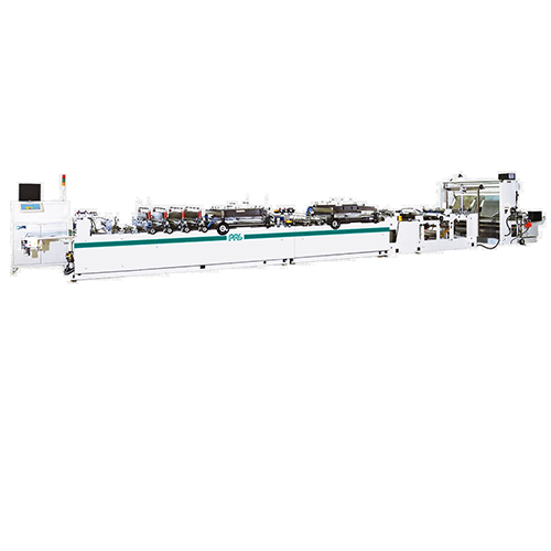 Central seal pouch bag making machine SCFA