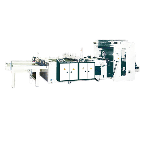 Side seal bag making machine + Heat-slitting system