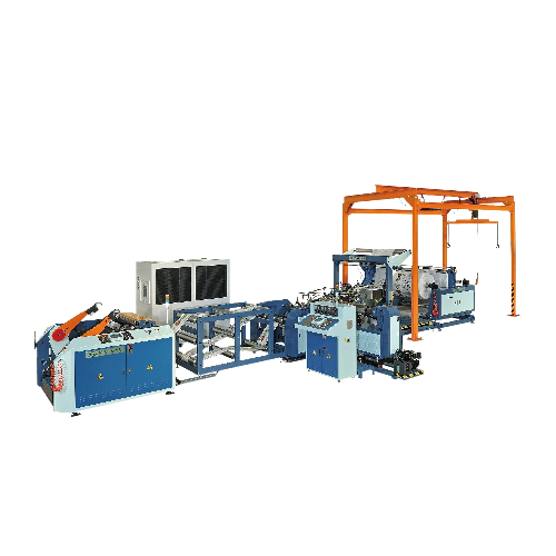 PP/OPP Woven Fabric Tubing Forming  Making Machine (Roll-to-roll)