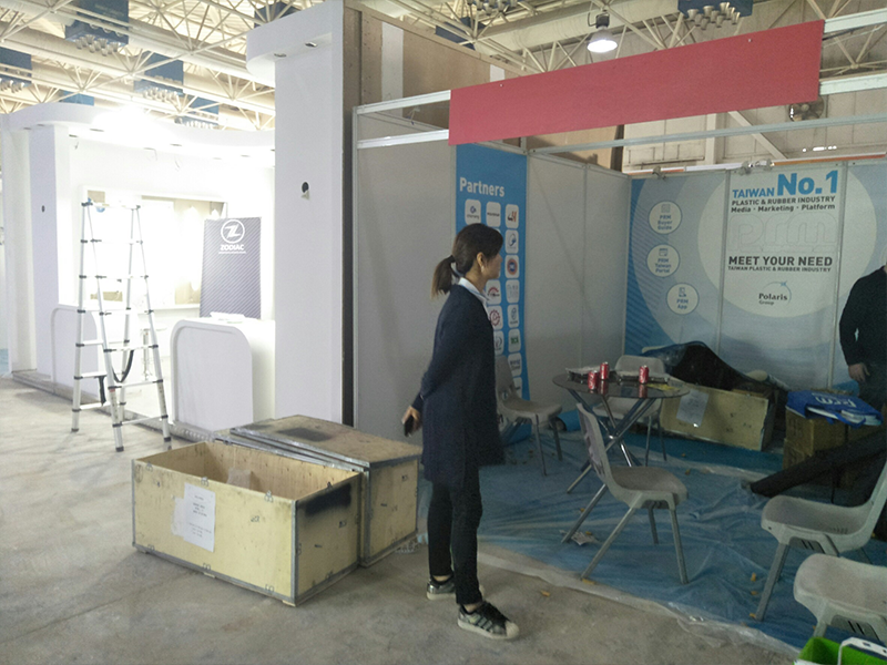 PRM-Taiwan Preparing for exhibition