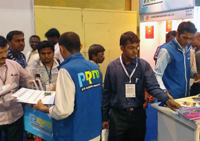 Crowded PRM-Taiwan Booth