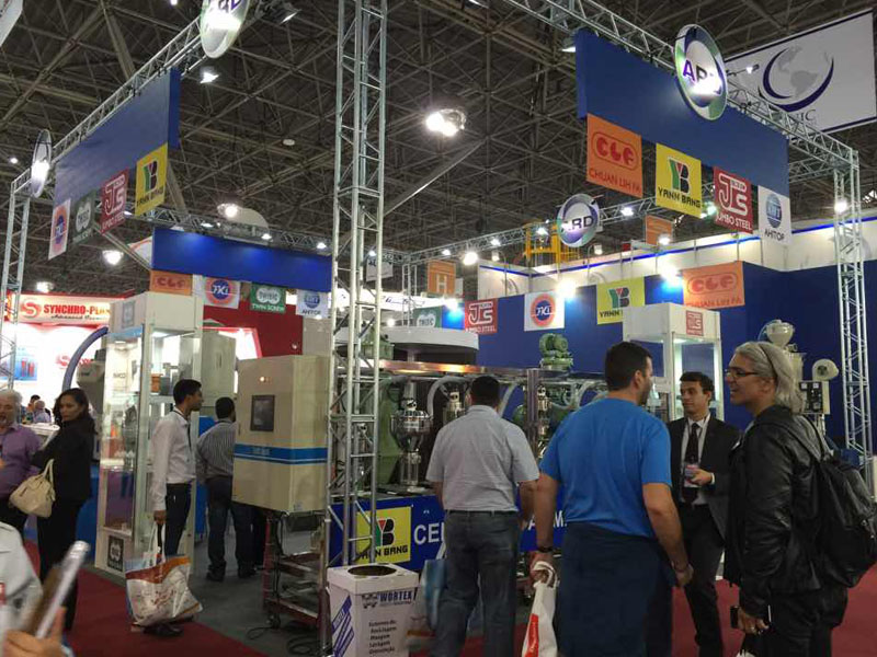 Taiwanese companies exhibited by the agents