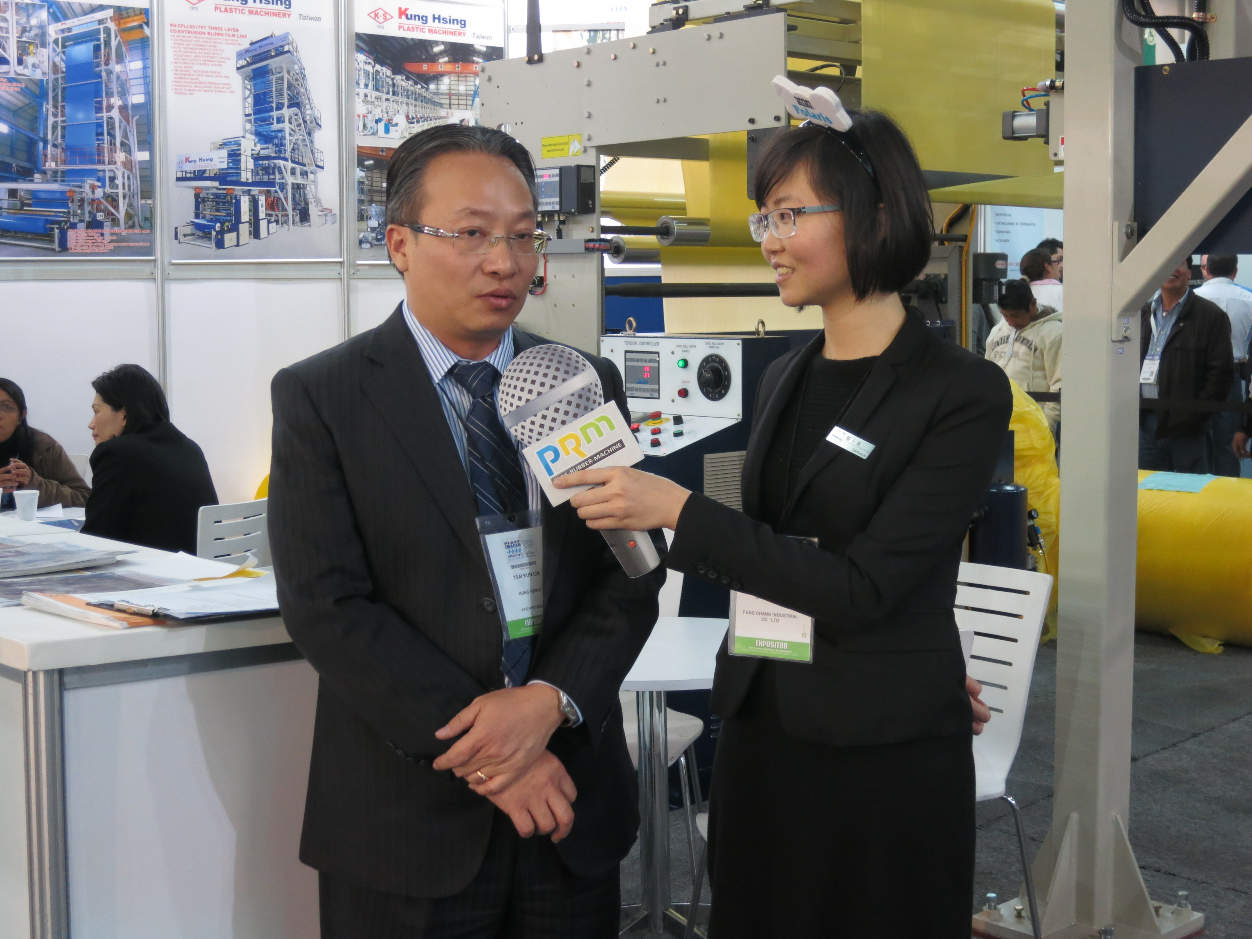 Interviewing with KUNG HSING
